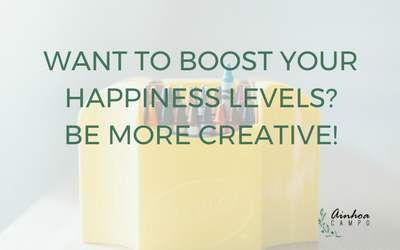 Want to boost your happiness levels? Be more creative!